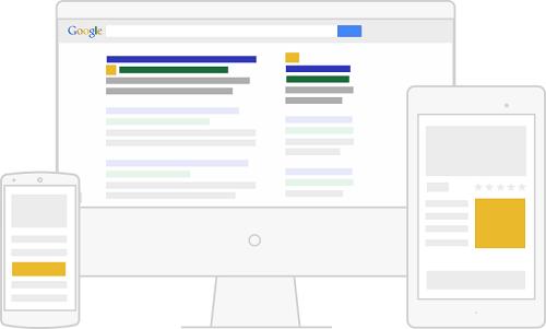 Page de résultat Google
